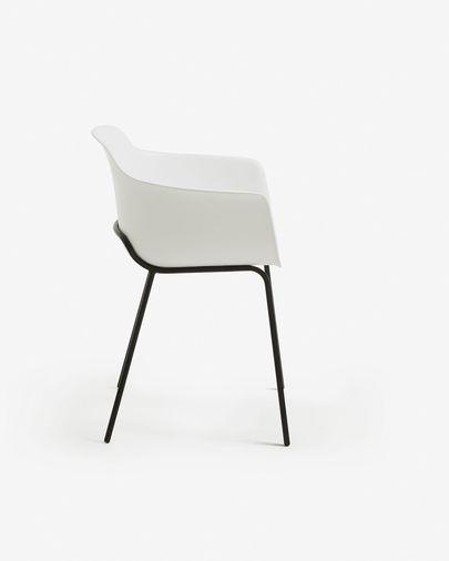 Witkleurige stoel Khasumi