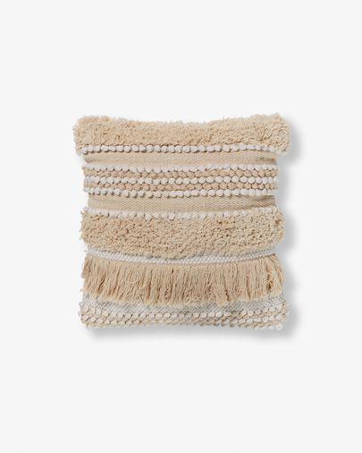Fodera per cuscino Frinn 45 x 45 cm bianco