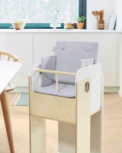 Cadeira evolutiva Nuun chapa bétula