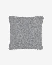 Corel grey cushion cover 45 x 45 cm