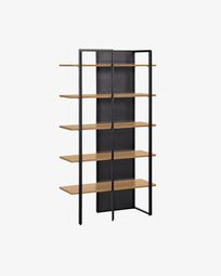 Oak wood Nadyria shelves 100 x 180 cm