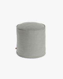 Pouf Maelina Ø 42 cm grigio