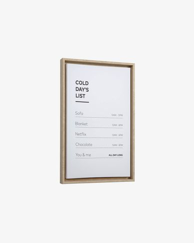 Quadre Annelise 50 x 30 cm list
