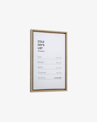 Annelise lijst afbeelding 50 x 30 cm