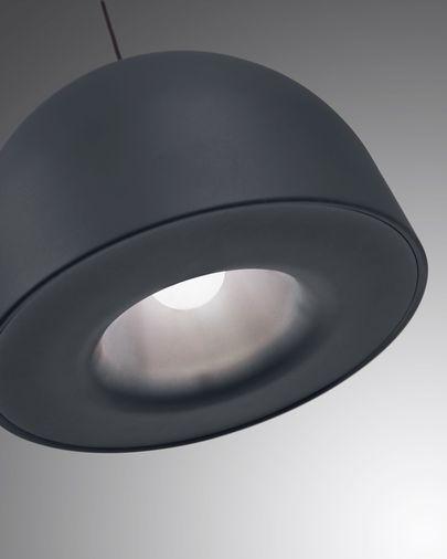 Suspension Karina aluminium noir