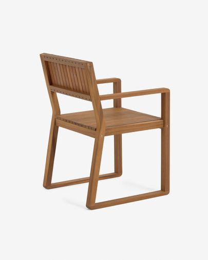 Krzesło ogrodowe Emili lite drewno akacjowe FSC 100%