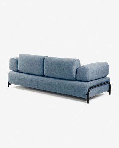Sofá Compo 3 plazas azul 232 cm
