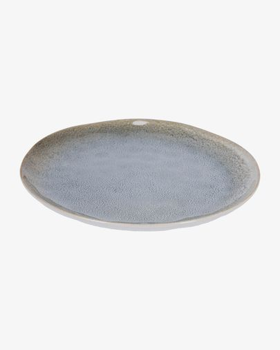 Assiette plate Sachi bleu clair