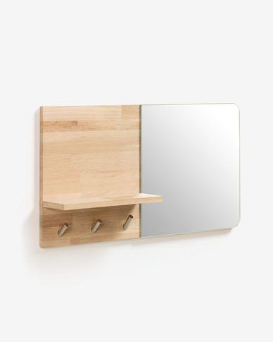 Specchio appendiabiti Maiten 65 x 35 cm