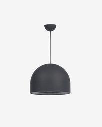 Karina ceiling light in black aluminium