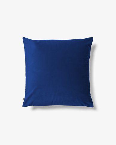 Funda coixí Lita 45 x 45 cm vellut blau