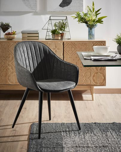 Chair Fabia graphite