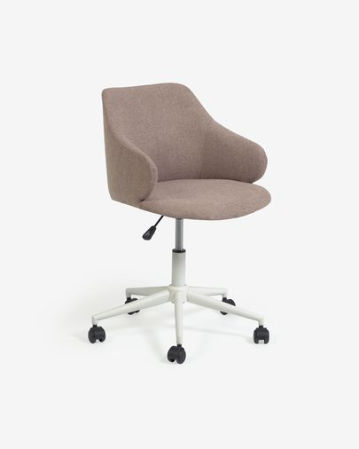 Einara pink office chair