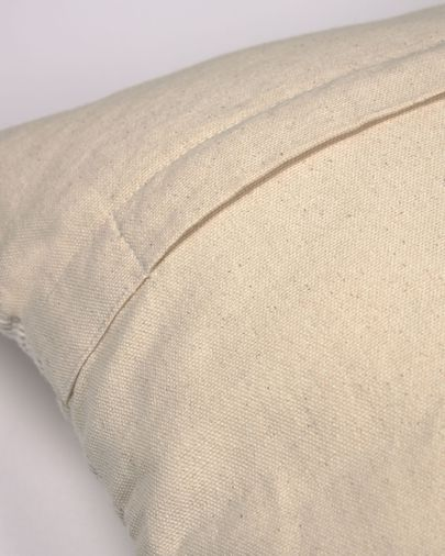 Hinde cushion cover in beige 45 x 45 cm