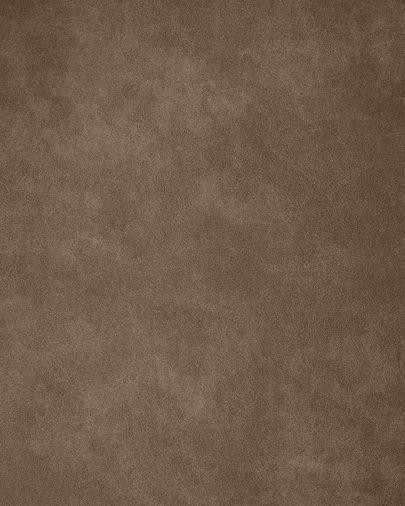 Sofá Tanya 2 lugares estofo castanho escuro 183 cm