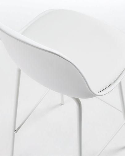 Taburete Brighter blanco altura 75 cm