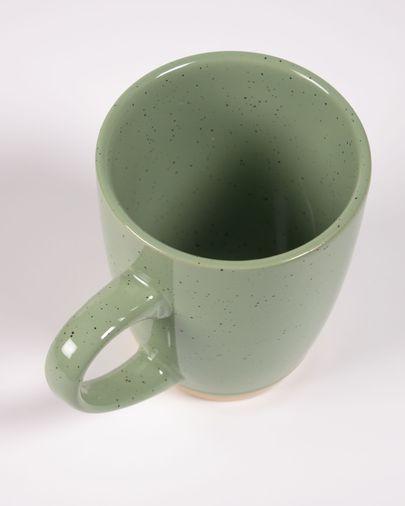 Licht groen keramische kop Tilia