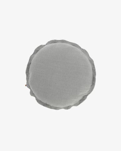 Funda de coixí Maelina Ø 45 cm gris