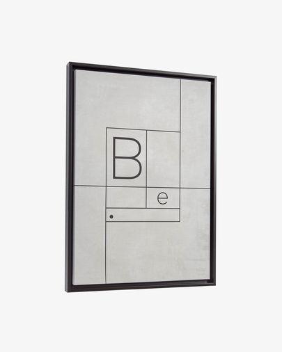 Quadre Myrthe 50 x 70 cm blanc