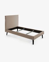 Bed Venla 140 x 190 cm bruin