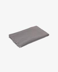 Clarice grijs deken 70 x 100 cm
