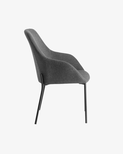 Chair Futura dark grey