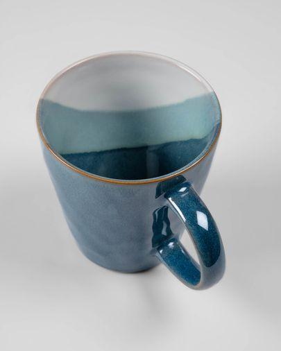 Tasse Nelba blanche et bleu