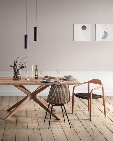 Armande Tisch 180 x 90 cm aus Eichenfurnier