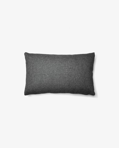 Kam cushion cover 30 x 50 cm chrono graphite
