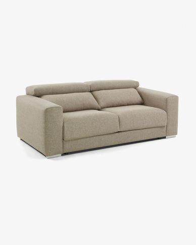 Atlanta beiges 3-sitzer Sofa 210 cm