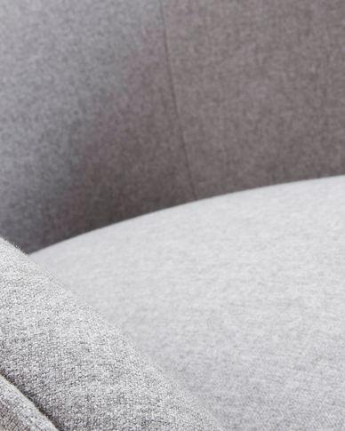 Grey Bobly armchair