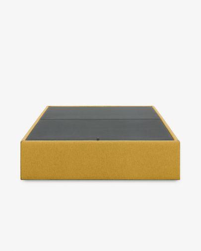 Canapé abatible Matters mostaza 90 x 190 cm