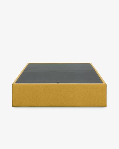 Canapé rebatível Matters 90 x 190 cm mostarda