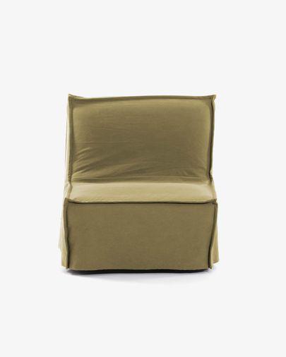 Divano letto Lyanna 90 cm marrone