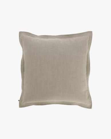 Kussenhoes Maelina 60 x 60 cm beige