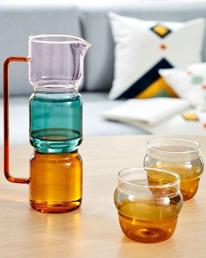 Fiorina multicolor glas