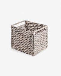 Words basket white