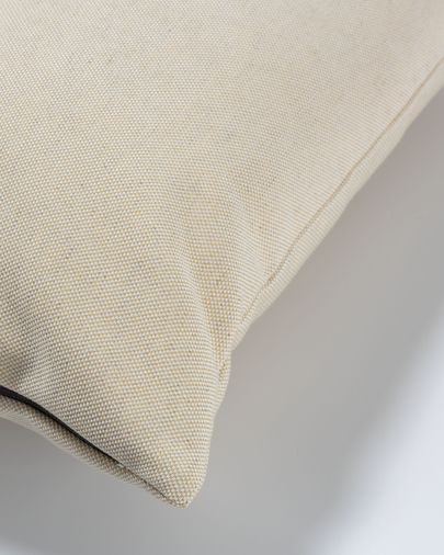 Beige Nedra cushion cover 30 x 50 cm
