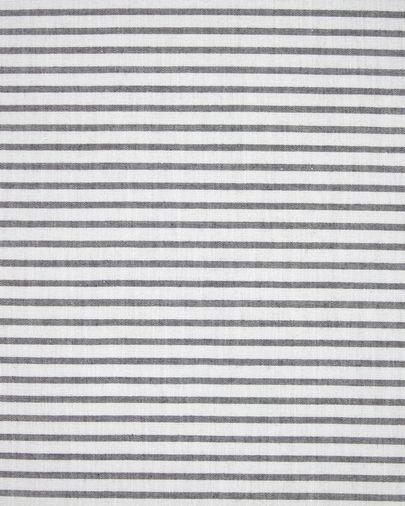 Cojín trona Nuun 100% algodón orgánico (GOTS) rayas azul