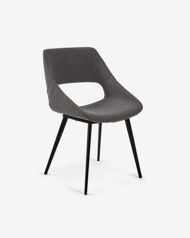 Cadira Hest gris fosc