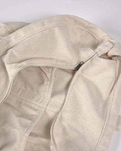 Borsa premaman Krizia 100% cotone biologico (GOTS) beige