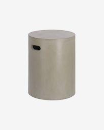 Jenell cement stool, 35 cm