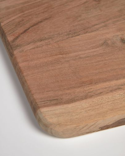 Tabla de servir rectangular Syriana de madera maciza de acacia