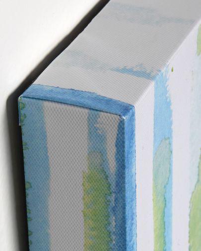 Set Oh 2 quadres blau