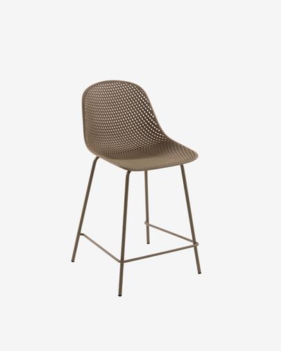 Beige Quinby stool height 65 cm
