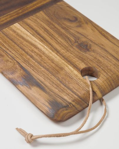 Taula de servir rectangular Ronli fusta massissa acàcia
