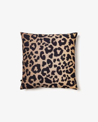 Funda cojín Libbie leopardo