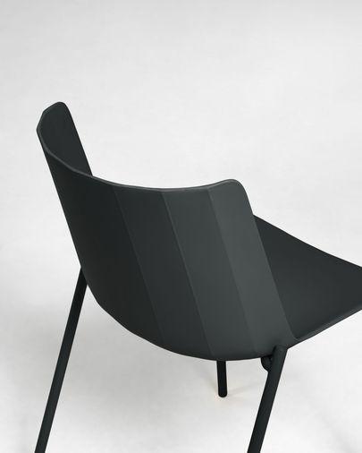 Chaise Hannia noire