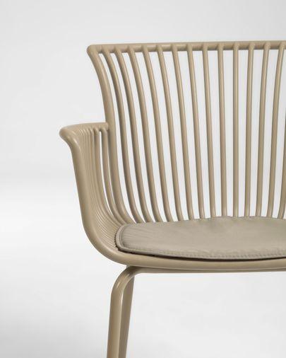 Chaise de jardin Surpika beige