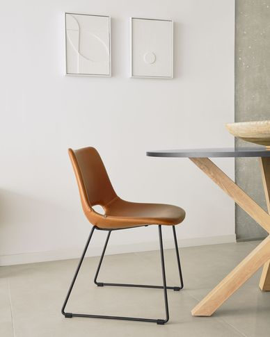 Krzesło Zahara brązowe